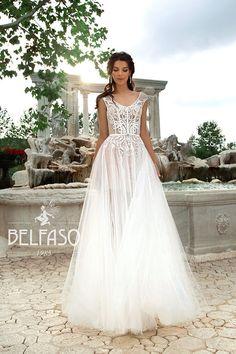 Bohemian A-Line Wedding Dresses Lace Short Cap Sleeve V-Neck