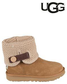UGG   Shaina   Ankle boots   Cognac   MONFRANCE Webshop