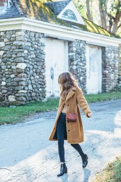 Hands down one of my favorite trends of the season, teddy coats are my outerwear dreams come true.