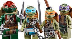 LEGO Teenage Mutant Ninja Turtles - 3 new sets for the movie!