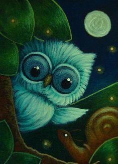 Cyra R. Cancel | TINY OWL MET A SNAIL 2
