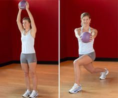 Hips and Thighs Workout - Tighten and tone your hips, thighs, and buns with this leg-strengthening workout.