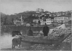Old pic of Kastoria Journey To The Past, Thessaloniki, Macedonia, World War I, Istanbul, Greece, Places To Visit, Europe, Island