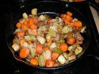 Derek on Cast Iron - Cast Iron Recipes: Recipe: Skillet Roasted Vegetables