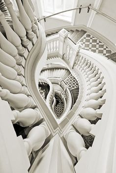 Staircase by Jukka Björn Intriguing but beautiful designed staircase