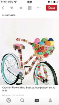 Bike crochet