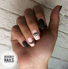 All of these nail designs are actually as easy as they are lovely. If you're regularly searching for creative ideas and new designs, nail art designs are a good way to show off your character and to be original. Aycrlic Nails, Love Nails, Hair And Nails, Nail Nail, How To Do Nails, Coffin Nails, Minimalist Nails, Stylish Nails, Trendy Nails