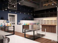 ButikSHOES: интерьер, зd визуализация, современный, модернизм, 50 - 80 м2, бутик, зал, интерьер #interiordesign #3dvisualization #modern #50_80m2 #boutique #hall #interior arXip.com