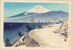 Tokuriki Tomikichiro: No. 11- Izu Eri Coast - 伊豆江梨海岸