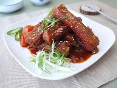 韓式燒豬肋排~牛頭牌厲害電鍋