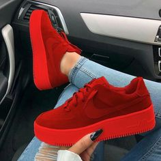 65 the best shoes in the world summer will surprise you 2019 page 41 Jordan Shoes Girls, Girls Shoes, Ladies Shoes, Cute Sneakers, Shoes Sneakers, Nike Red Sneakers, Colorful Sneakers, Yeezy Shoes, Sneakers Fashion