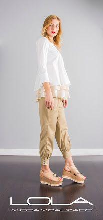 Pantalón pirata de TWIN SET con puño abotonado. Pincha este enlace para comprar tu pantalón en nuestra tienda on line: http://lolamodaycalzado.es/primaver…/1375-twin-set-72d2.html