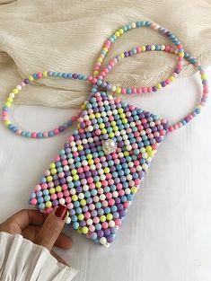 Bead Embroidery Jewelry, Beaded Jewelry Patterns, Beaded Embroidery, Beading Patterns, Jewelry Design Earrings, Bead Jewellery, Art Bag, Beaded Crafts, Beaded Bags