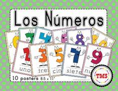 0 10 Spanish Numbers