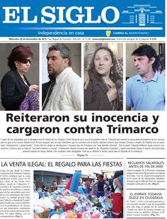 Diario El Siglo - Miércoles 28 de Noviembre de 20 12