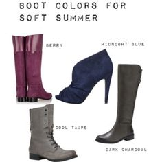Boot Colors for Soft Summer