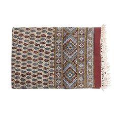 Persian Ghalamkari Tapestry Table Cloth Calico 240 × 160 cm #atrian…