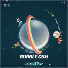 "Look at my beautiful planet ""Bubble Gum""! http://galaxy.walkrgame.com/xcPThpkkSsz/7"