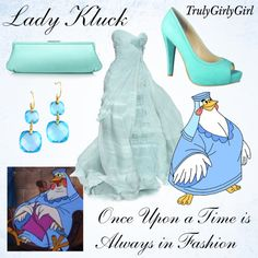 Disney Style: Lady Kluck, created by trulygirlygirl on Polyvore