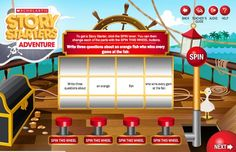 Scholastic Story Starters - Great for the 6 Traits of Writing - Writing Ideas http://www.scholastic.com/teachers/story-starters/writing-prompts/