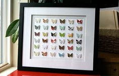 another example of butterfly art...