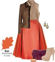 Pantone Fall 2013: Koi, The Closet by Christie  women's fashion, colors, style