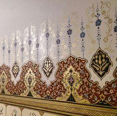 Teshib Elif nurcihan gülen Islamic Art Pattern, Pattern Art, Print Patterns, Turkish Pattern, Oriental Pattern, Arabesque, Mandala, Illumination Art, Turkish Art