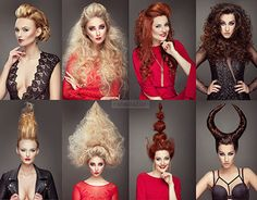 """Check out new work on my @Behance portfolio: """"hairstyle"""" http://be.net/gallery/34061402/hairstyle"""
