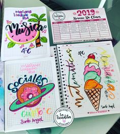 Starting my school life well with my bullet journal 🌻📓 Bullet Journal Notes, Bullet Journal School, Bullet Journal Ideas Pages, Notebook Art, Notebook Covers, My School Life, Journal Fonts, School Notebooks, Diy School Supplies