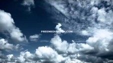 Blue Sky with Clouds Time Lapse. Free HD stock footage. http://www.freemediabank.com/blue-sky-with-clouds-time-lapse-free-hd-stock-footage/