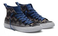 Sneaker von Missoni und Converse Herbst 2011