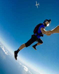 The Sky, a Plane and a Parachute. Products are shown: MX series Short with Blair Smith Snowboarding, Skiing, Skydiving Quotes, Nepal Mount Everest, Rock Climbing Gear, Hang Gliding, Bungee Jumping, Above The Clouds, Extreme Sports