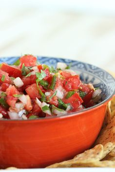 Let your summer tomatoes shine in this easy to make Fresh Tomato Salsa.  The very best salsa recipe ever. | The Suburban Soapbox