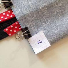 Draußen nur Kännchen!: So geht das: Minitäschchen aus Wachstuch mit Paspel Fabric Bags, Bag Accessories, Diy And Crafts, Coin Purse, Office Decor, Purses, Sewing, Pattern, Gifts