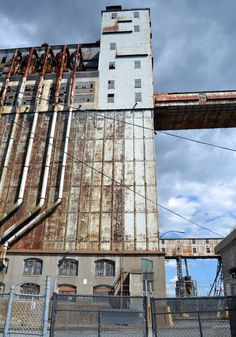 Pointe-du-Moulin Grain Mill, Montreal, Quebec, Canada Belle Villa, Montreal Quebec, Brooklyn Bridge, Towers, Painting Inspiration, Decay, Abandoned, Skyscraper, Landscapes