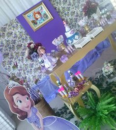 Decoracao tema princesa Sophia