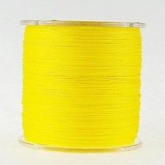 (NYY) 300M 100LB Super Strong Japan Multifilament PE 4 Strands Braided Wire Ocean Fishing Line Yellow Color ** You can find out more details at the link of the image.