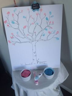 Gender Reveal Party Food Decoration Ideas  #genderreveal #genderrevealparty #pregnancyreveal