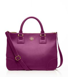 The PERFECT work bag - Robinson Double Zip Tote | Womens The Robinson Collection | ToryBurch.com