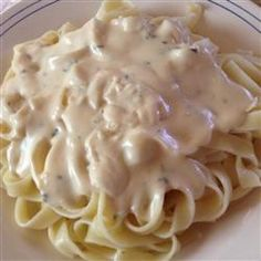 """Quick Alfredo Sauce 