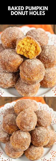 Fall Dessert Recipes, Fall Desserts, Just Desserts, Delicious Desserts, Yummy Food, Baked Pumpkin, Pumpkin Recipes, Beignets, Pumpkin Delight