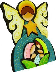 Pinturas para manualidades, cerámica y artesanía Cantek Nativity Crafts, Christmas Nativity, Christmas Deco, Christmas Holidays, Christmas Cards, Xmas, Christmas Crafts For Gifts, Craft Gifts, Easy Crafts