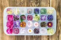 These 9 edible flowers will boost your cold beverage game.
