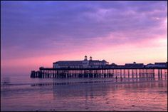 Sunset at Hastings Pier