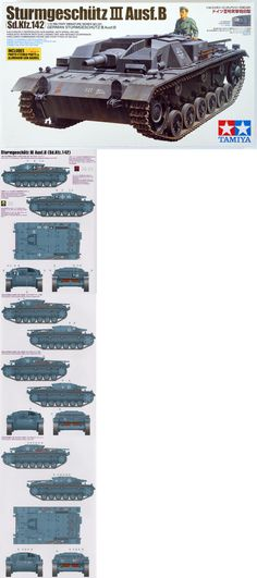 Armor 2588: 1 35 Tamiya German Sturmgeschutz Iii Ausf.B #35281 -> BUY IT NOW ONLY: $45.99 on eBay!