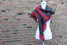 You'll want to get wrapped up in this stylish crochet wrap! This pattern would also make a great gift idea for a friend (hint...hint....hint).