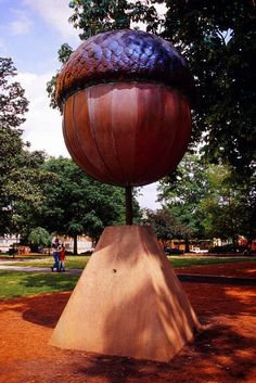 "Raleigh is the ""City of Oaks"" and the acorn is used to count down the new year in Moore Square! 