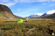 Singi Mountain Hut – King's Trail - Crossing The Arctic Circle.