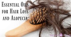 Learn about the best essential oils for hair loss/alopecia and how to make a hair regrowth serum that strengthens, stimulates, and repairs hair follicles.