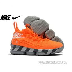 "75154e19aeff Nike LeBron 15 ""Orange Box"" AR5125-800 Total Orange White"